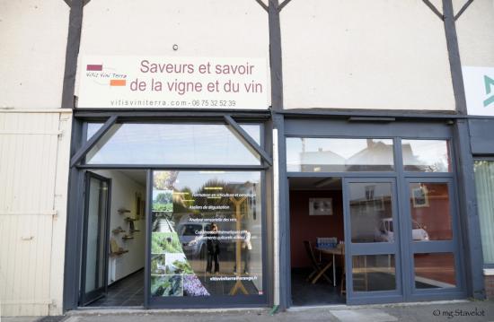 Espace Culture et Vin - VitisViniTerra - Auxerre - Photo M-G Stavelot