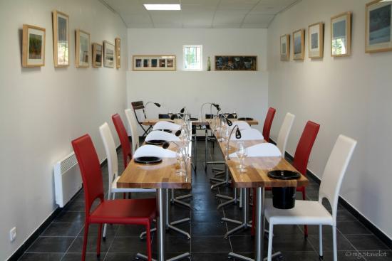 Salle de dégustation - VitisViniTerra - Auxerre - Photo M-G Stavelot